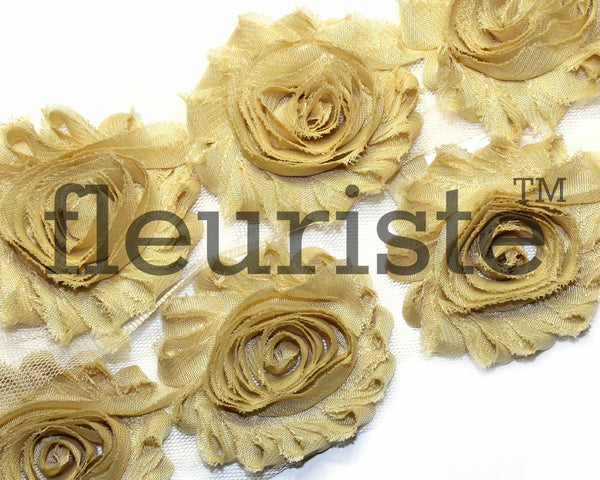 Solid Shabby Rose Trim-Tan