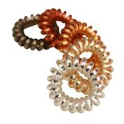 Spiral Hair Ties- Multi-colored
