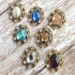 Antique Gold Buttons-Pick Your Color