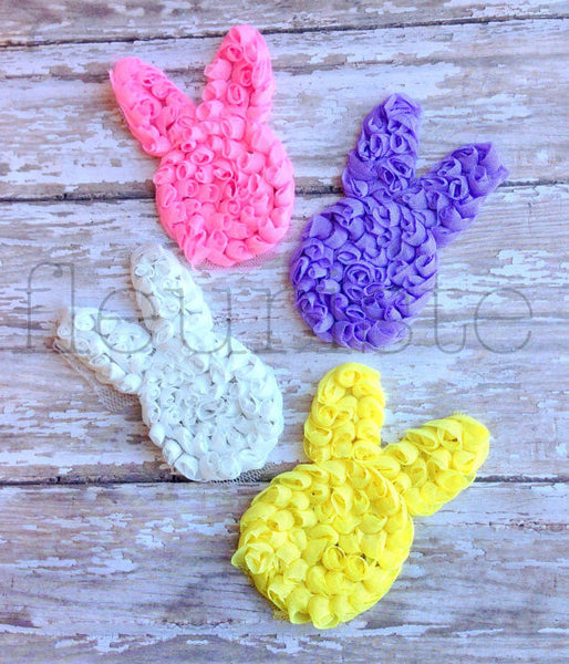 Shabby Bunny Singles - Pick Your Color