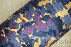 "Gray Printed Fold Over Elastic-5/8"" Width Camouflage Camo Military"