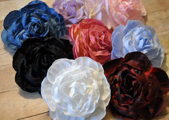 Vintage Rose Flowers - Pick Your Color