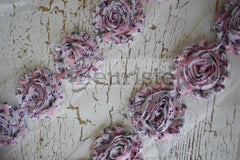 Patterned Shabby Trim by the Yard- Floral 148
