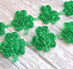 Single Shabby Shamrocks