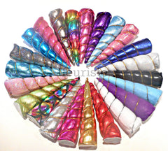 "5"" Unicorn Horns - Pick Your Color"