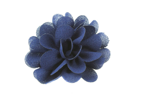 Small Chiffon Flowers 2 inch - Pick Your Color