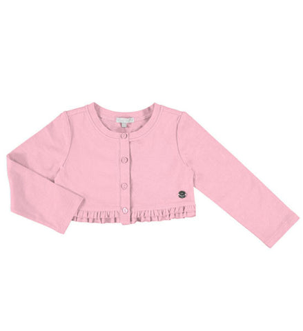 Mayoral Girls Bolero Cardigan Rose