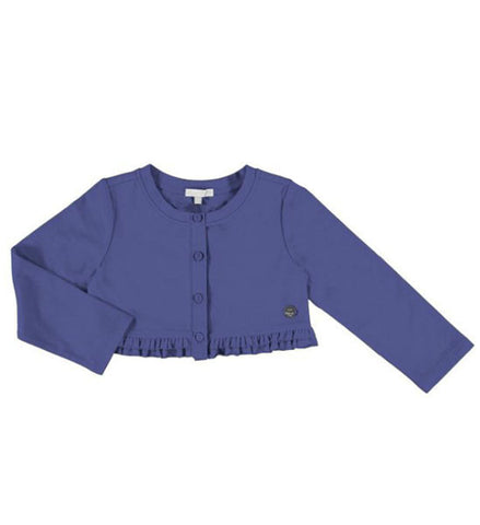 Mayoral Girls Bolero Cardigan Indigo