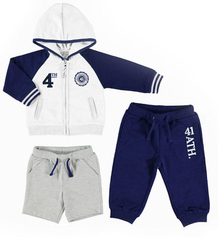 Mayoral Baby Boy Tracksuit with Shorts & Pants
