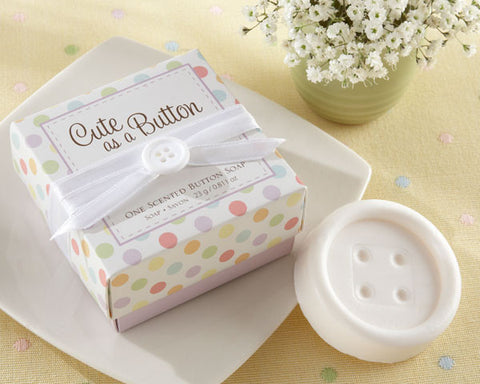 """Cute as a Button"" Scented Button Soap"