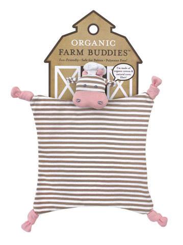 Apple Park Organic Farm Blankie - Chef Cow