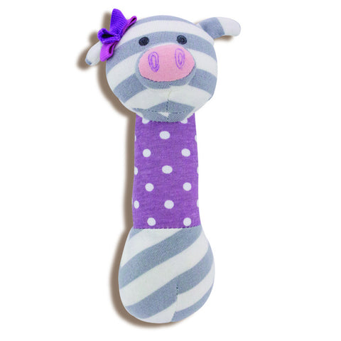 Apple Park Organic Farm Squeaky Toy - Penny Piggy
