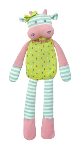 Apple Park Organic Farm Plush Toy - Belle Cow