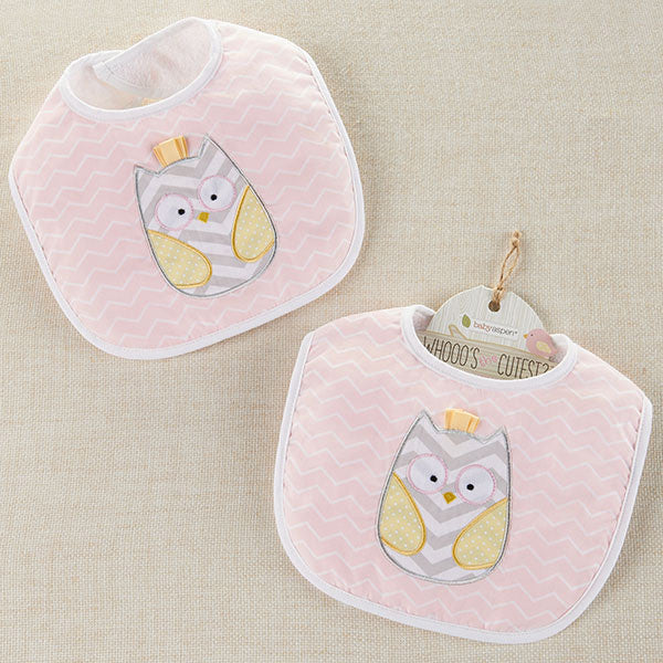 """Whooo's the Cutest"" Baby Bib - Brands For Kids"