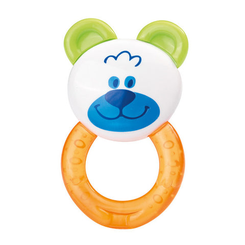 Baby Teether with Bear Rattle