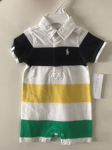 Ralph Lauren Baby Boy Cotton Shortall