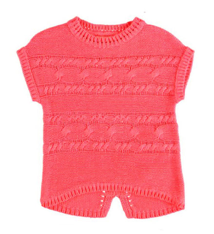 Mayoral Girls Sleeveless Sweater