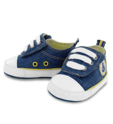 Mayoral Baby Boy Denim Sport Shoes Blue