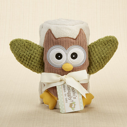 "Baby Blanket ""My Little Night Owl"""