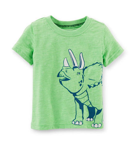 Baby Boy Dinosaur Grphic Tee Green