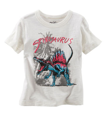 OshKosh Baby Boy Spinosaurus Graphic Tee White