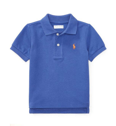 Ralph Lauren Baby Boy Classic Cotton Polo Regent Blue