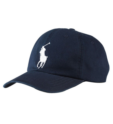 Ralph Lauren Big Pony Baby Boy's Sports Hat Blue