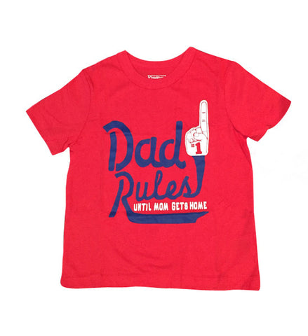 OshKosh Boys Short-Sleeve Tee Dad Rules