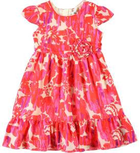 DKNY Girl Brushed Blooms Dress - Brands For Kids