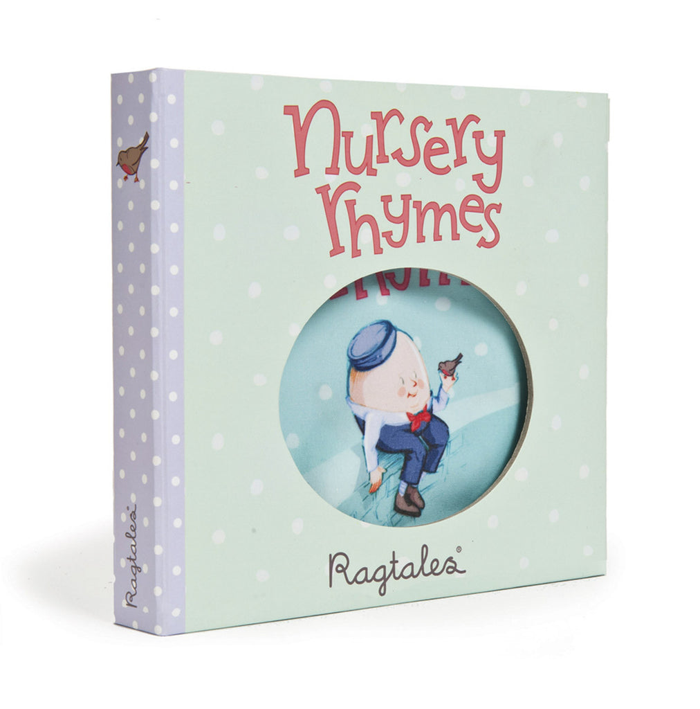 Ragtales soft cloth baby book Nursery Rhymes