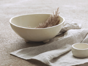 Winterish medium bowl