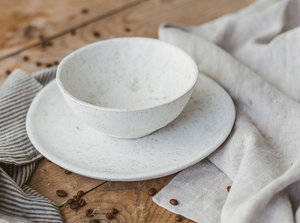 simple casual dinner set pottery tableware
