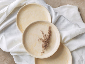 sand unique dinner plate sets raised edge dish
