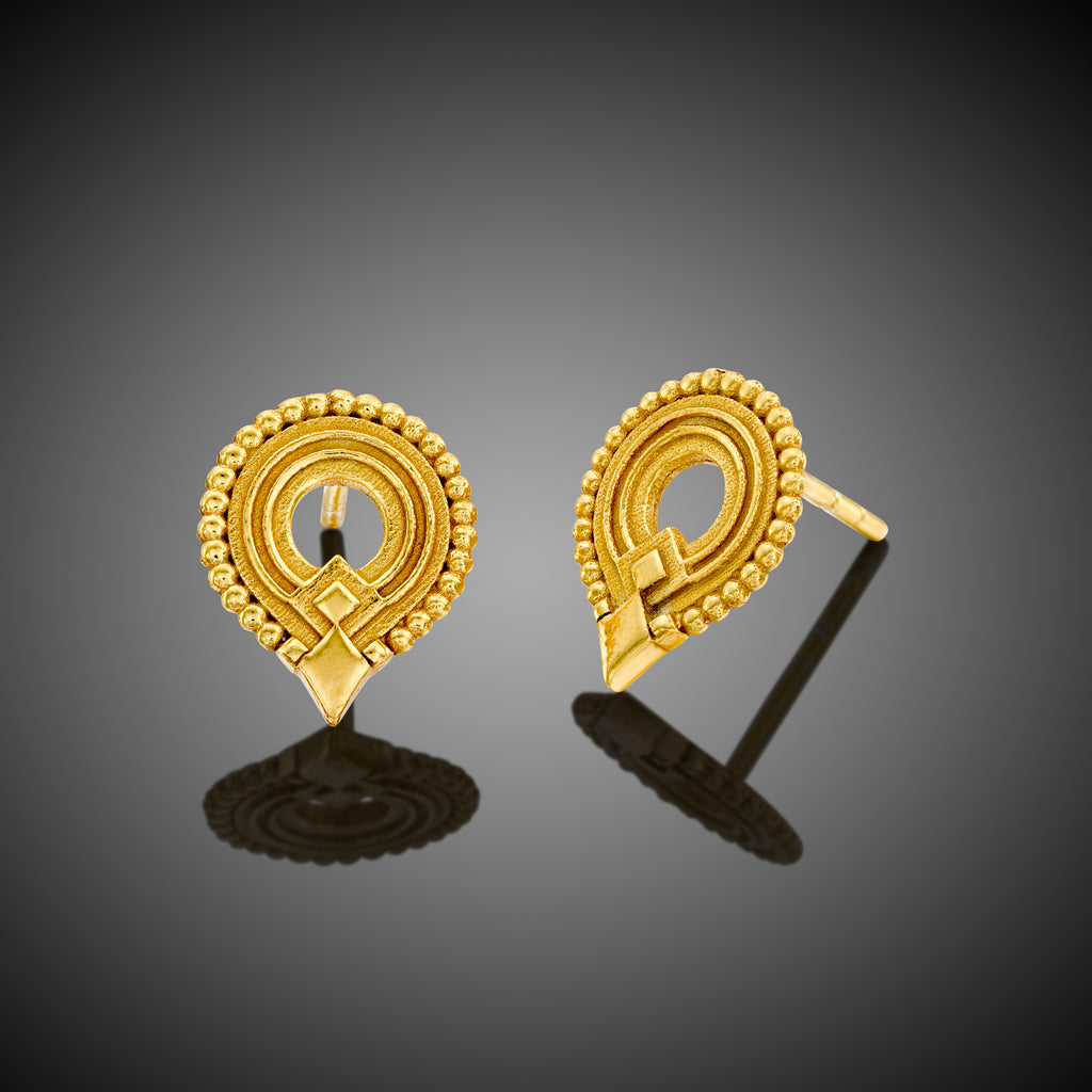 Kalahari tribal earrings