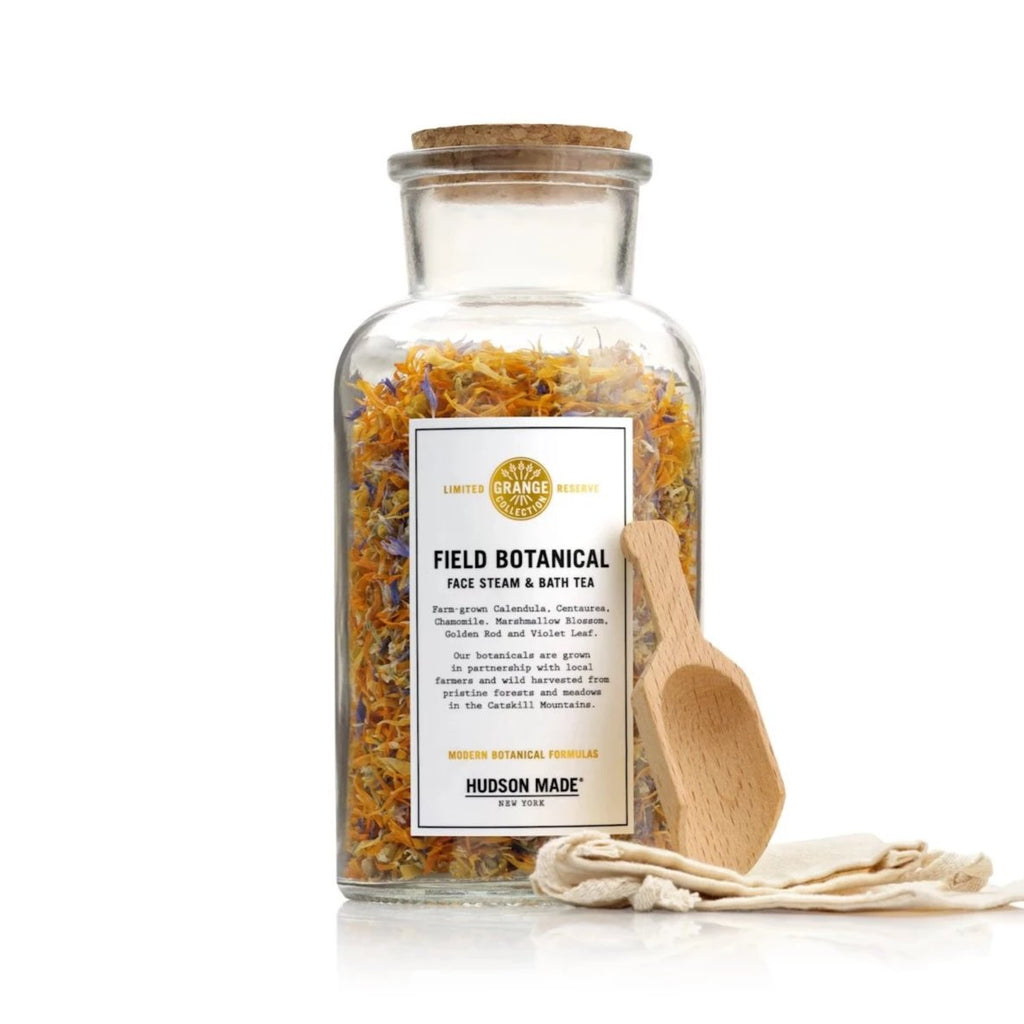 Field botanical /  face steam & bath tea by hudson made