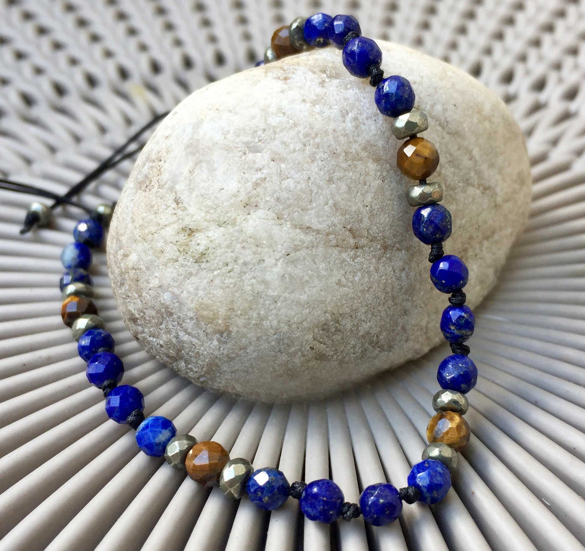 Lapis Lazuli with Tiger's Eye