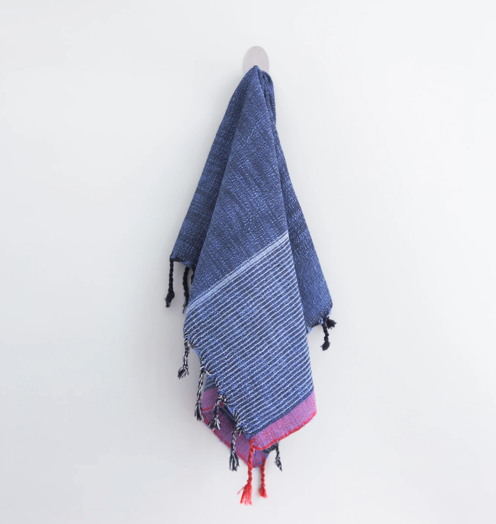 Indigo Turkish Hand Towel