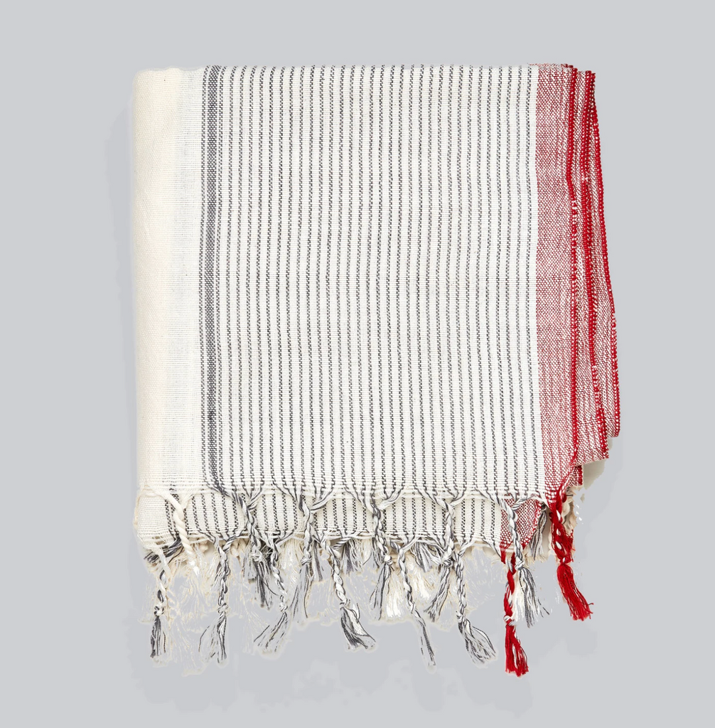 New! Pinstripe Turkish Towel