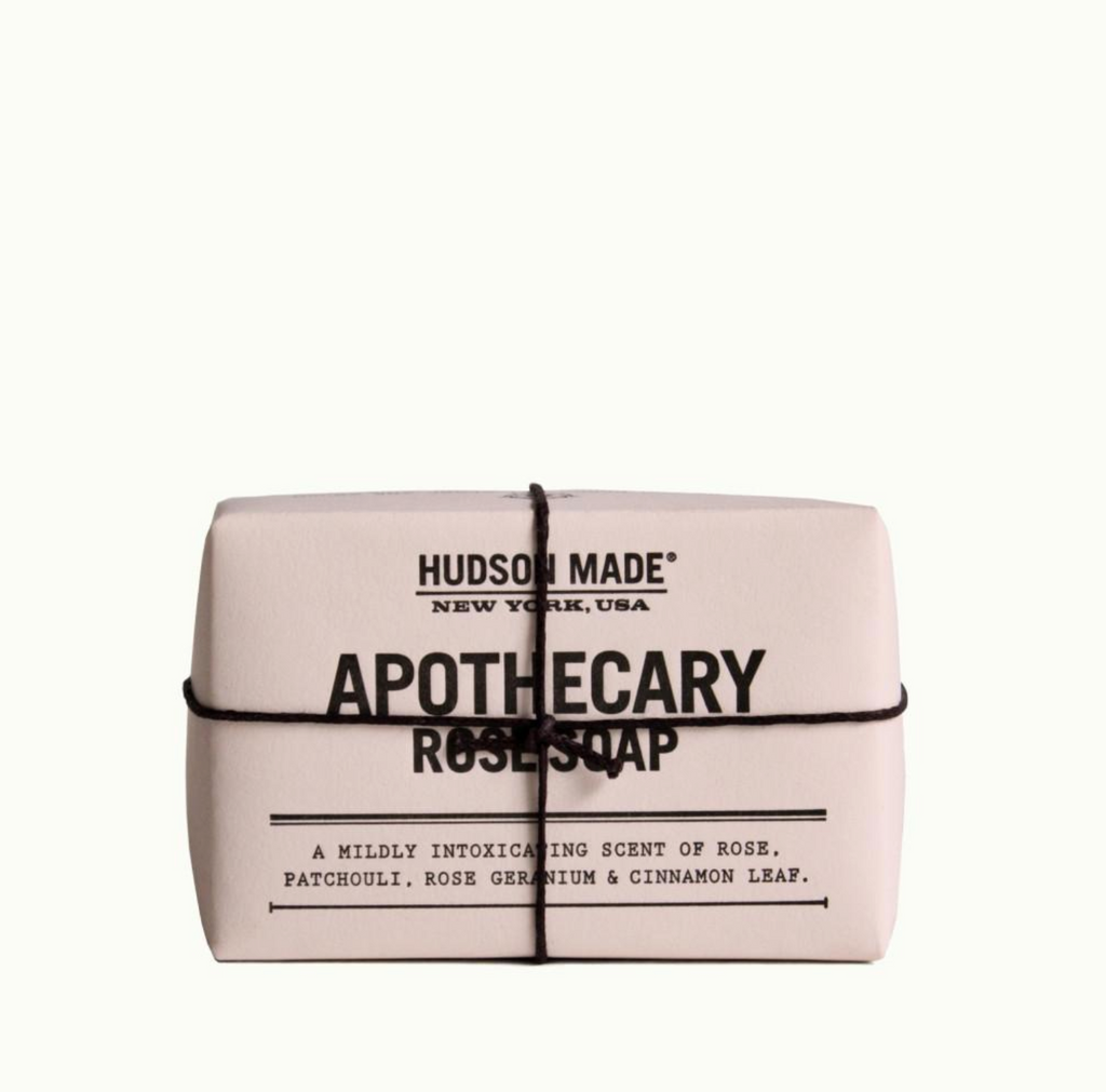 Apothecary rose soap by hudson made