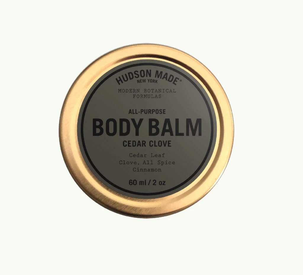 Cedar clove body balm by hudson made