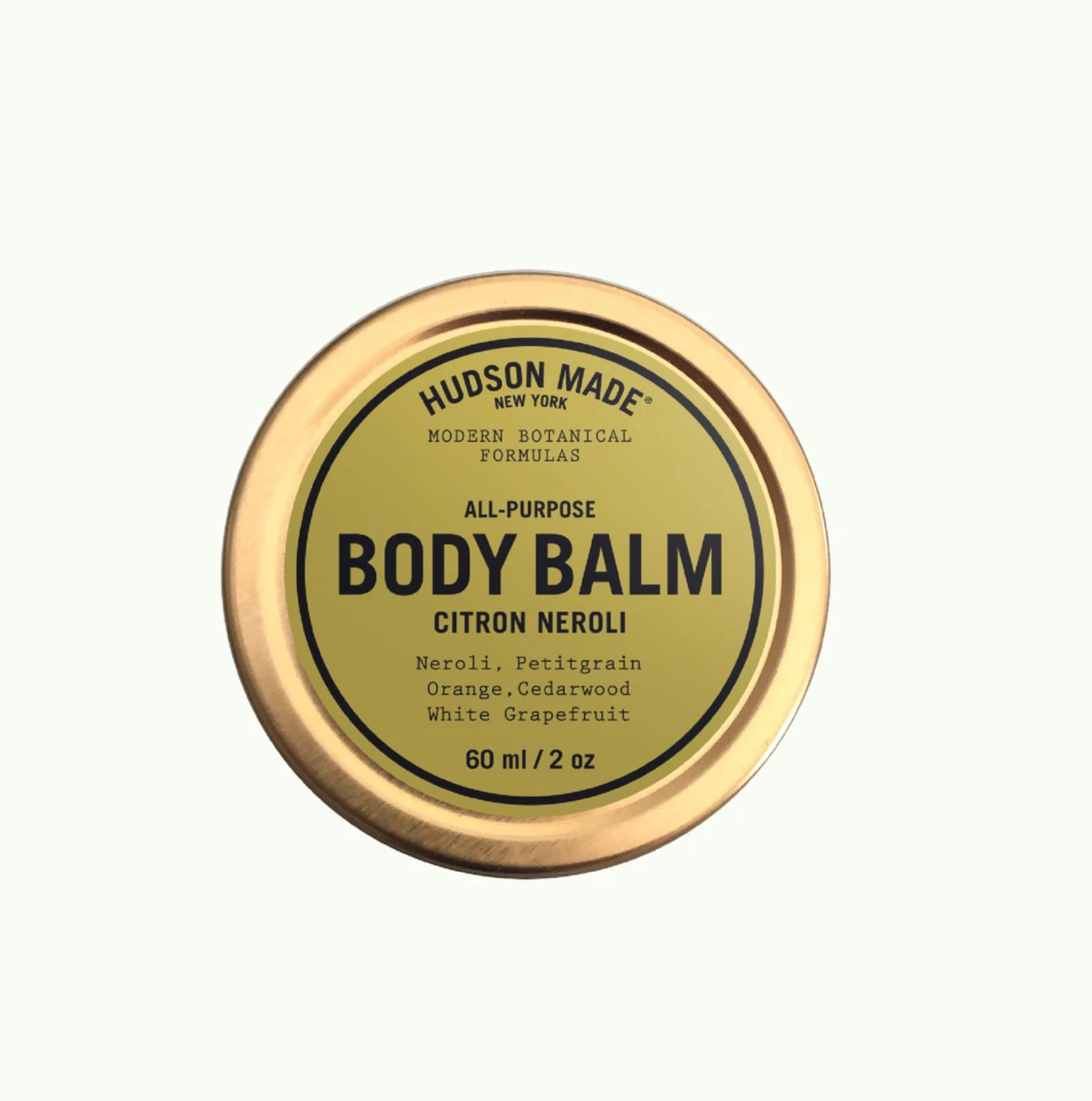 Citron neroli body balm by hudson made