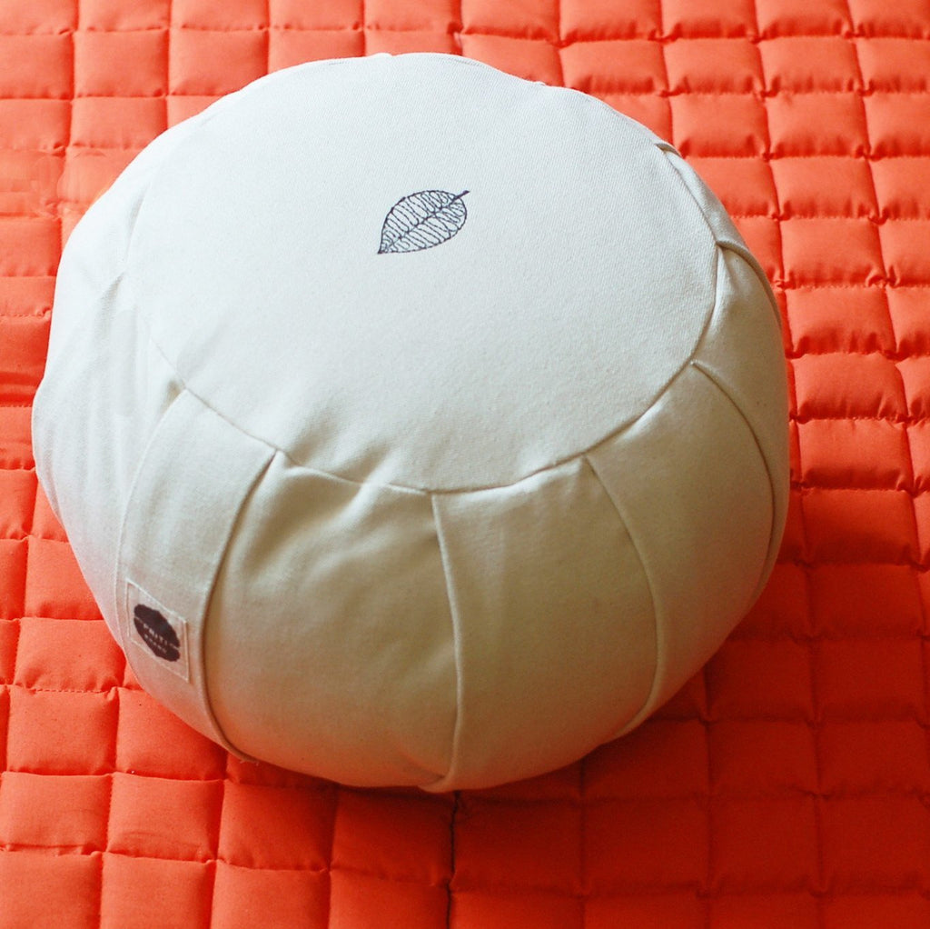 Modern India zafu meditation cushion