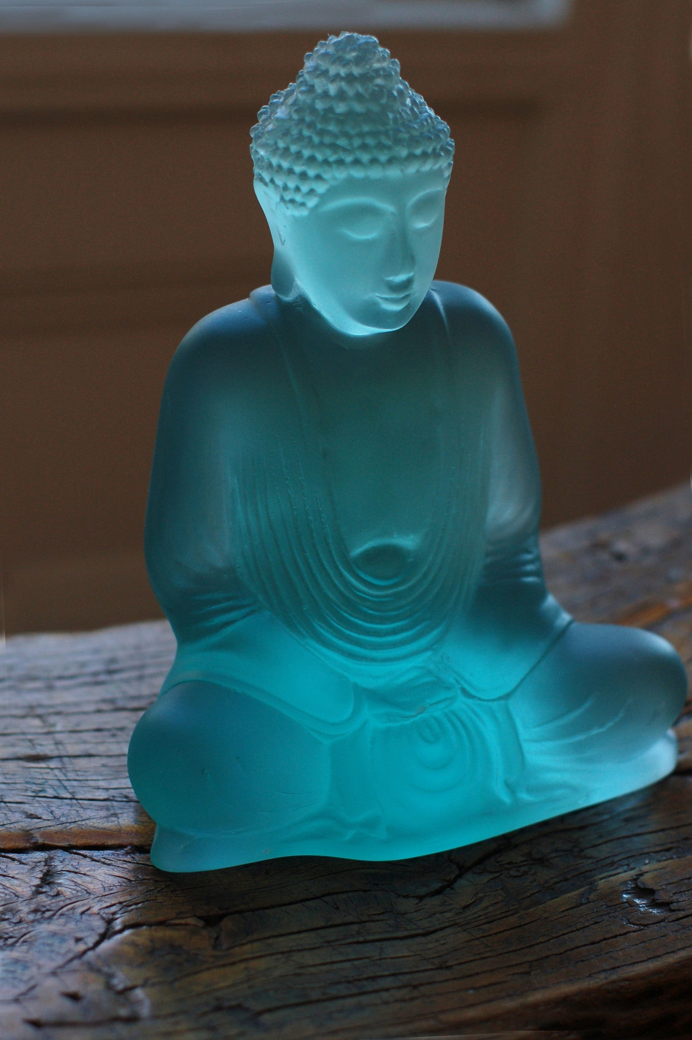 Beach Glass Lucent Buddha