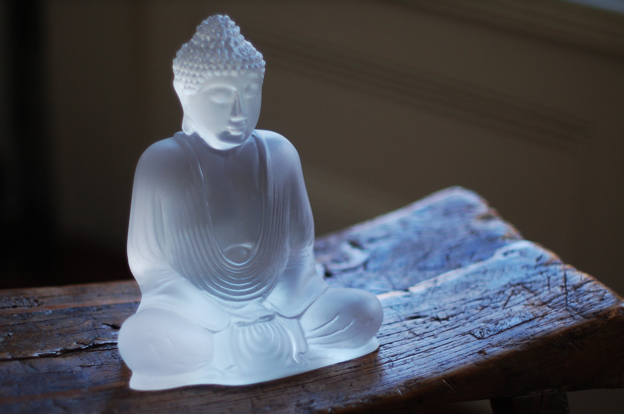 Frosted Lucent Buddha