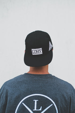 The Classic 5 Panel (Black)