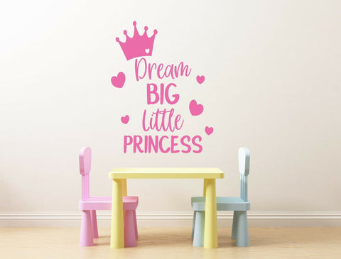 Dream Big little one Decal Sticker