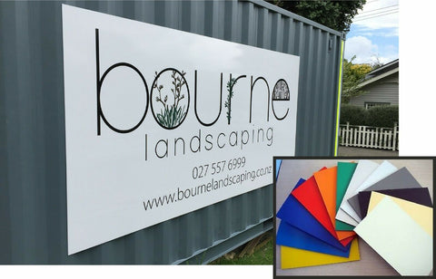 Aluminium Composite Sign Outdoor