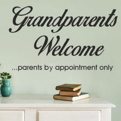 Grandparents Welcome