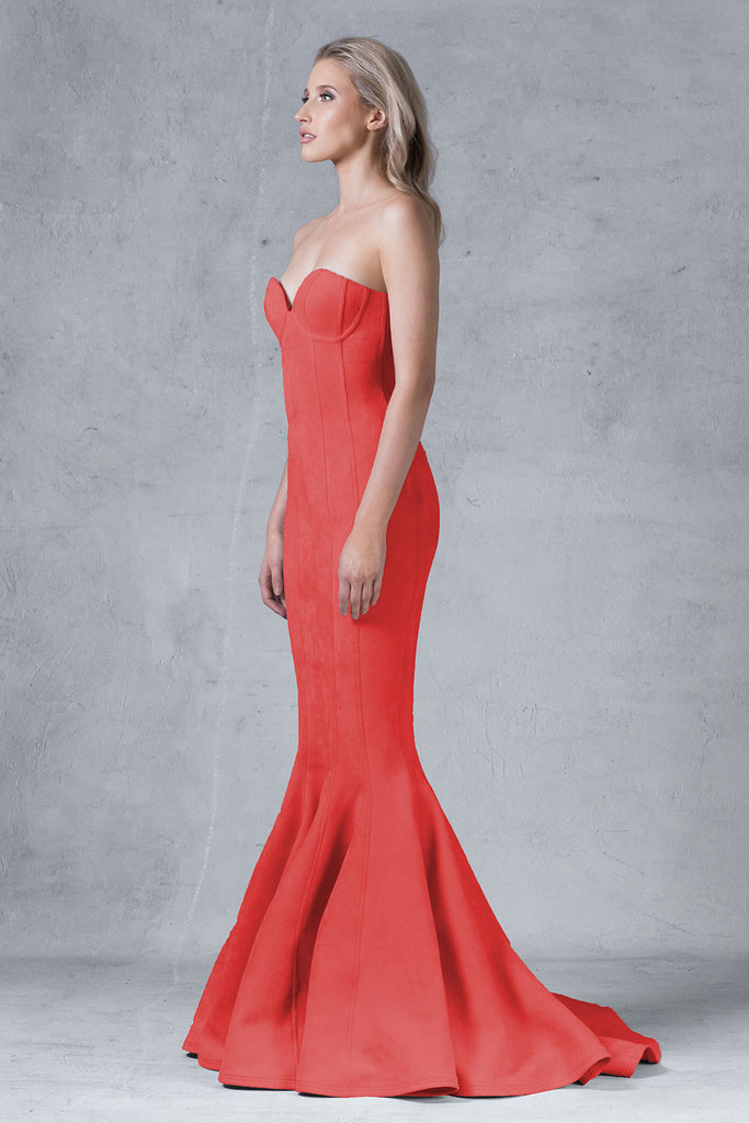 Astara  Dress - Red