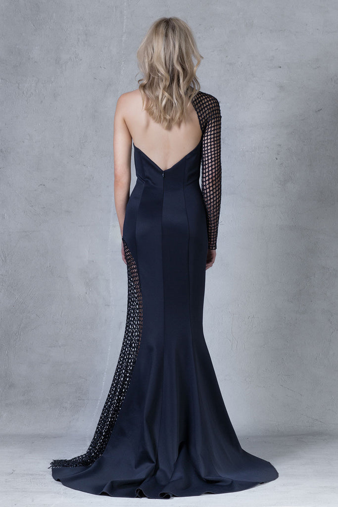'Vesta' Dress - Midnight Blue